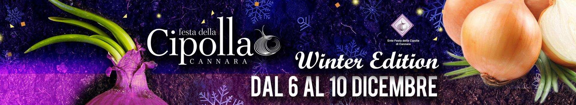 Festa della cipolla Winter Edition 2017
