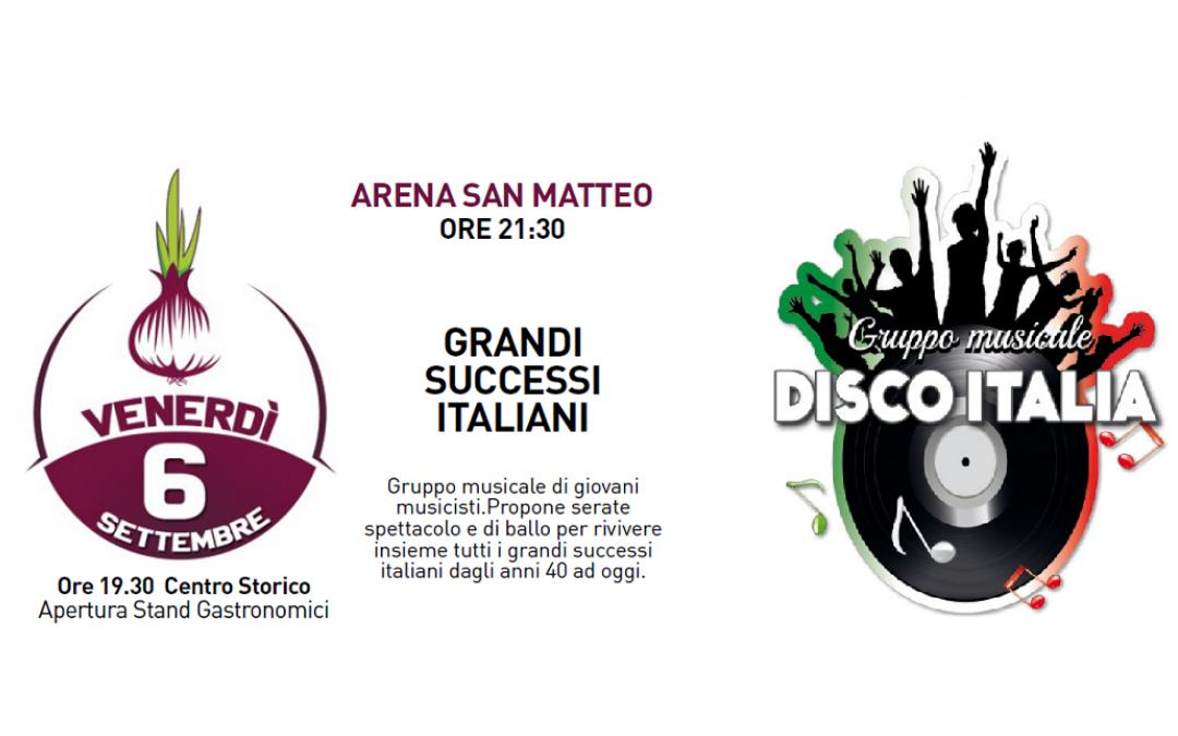 Disco Italia – concerto