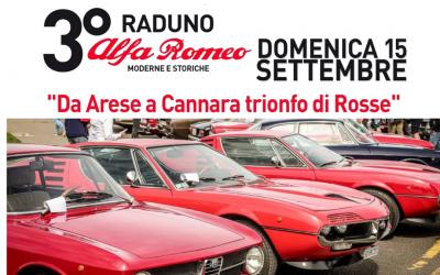15 settembre 2019 evento 30° raduno Alfa Romeo